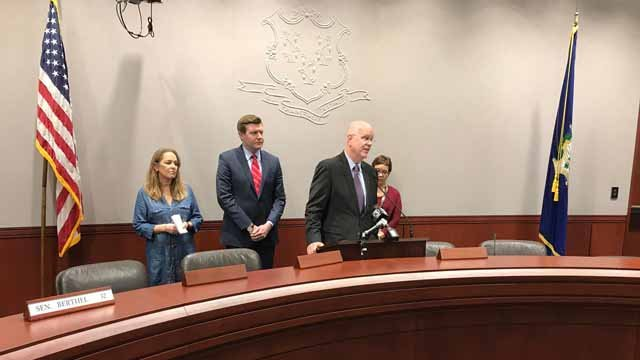 Lawmakers discussed changes to prescription drug costs on Tuesday (WFSB)