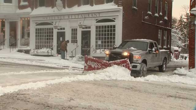 Northwest CT saw the most snow from Winter Storm Elsa (WFSB)
