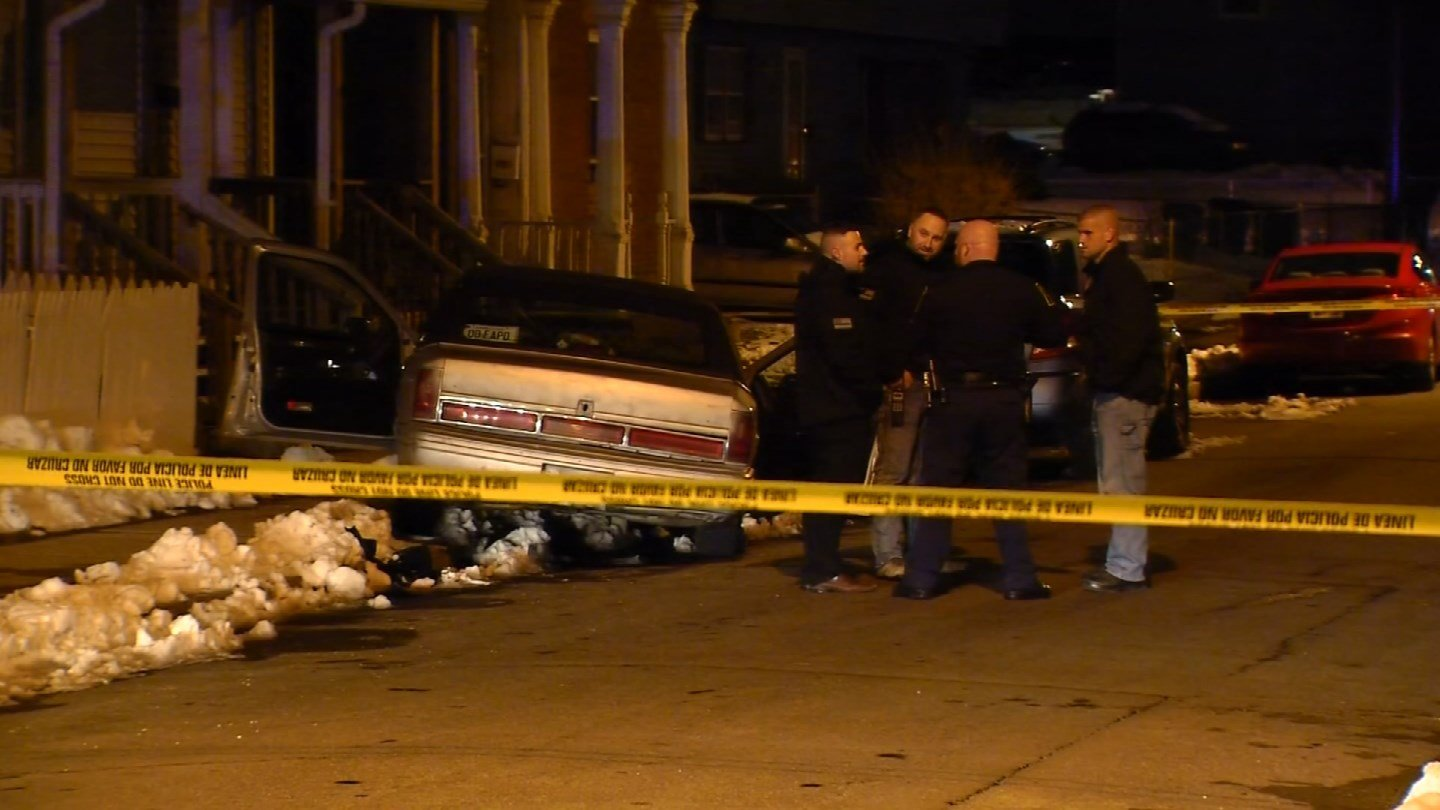 A man was reportedly stabbed in Liberty Street in Hartford after giving a stranger a ride. (WFSB)