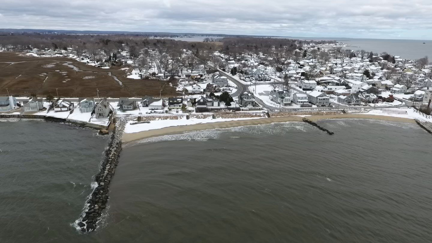 Old Saybrook had more than 1,000 customers without power on Friday. (WFSB)