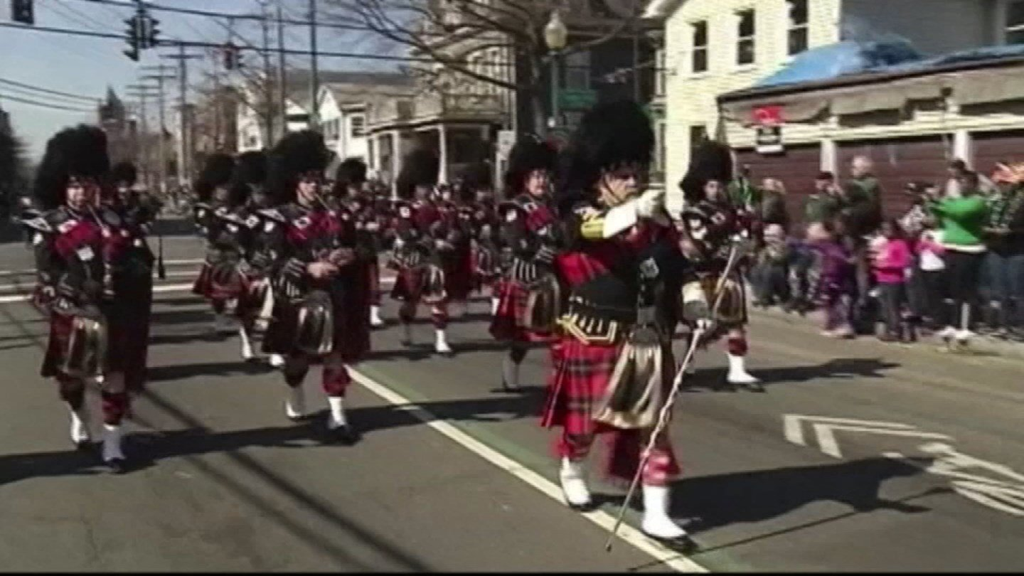 The Greater New Haven St. Patrick's Day Parade. (WFSB file)
