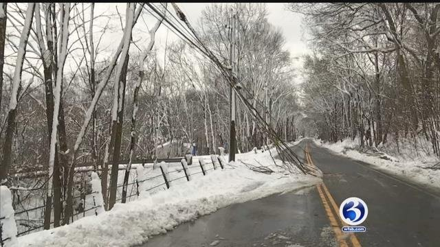 Winter Storm Elsa's effects continue to linger as the state braces for Winter Storm Ferris. (WFSB)