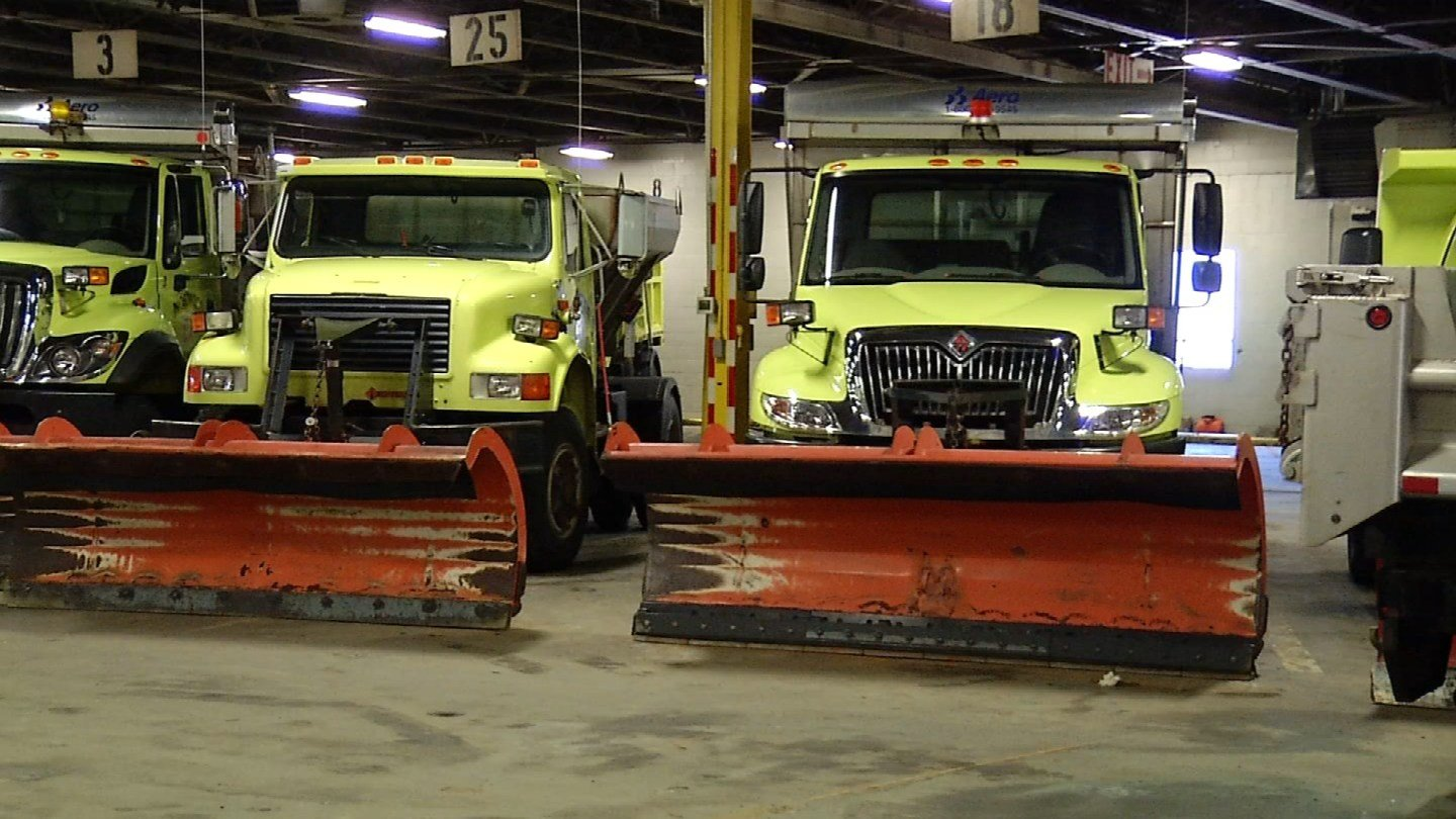 Norwich crews prepared for Winter Storm Ferris. (WFSB)