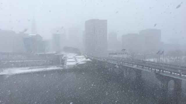 A snowy Hartford (Karen Buczynski)