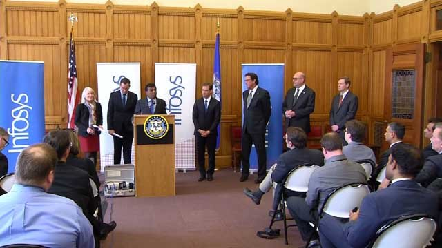 Infosys opens 4th U.S. tech centre in CT