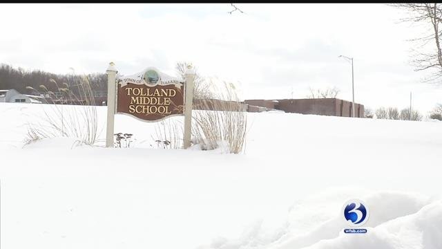 Some school districts are taking days away from spring vacation to make up snow days (WFSB)