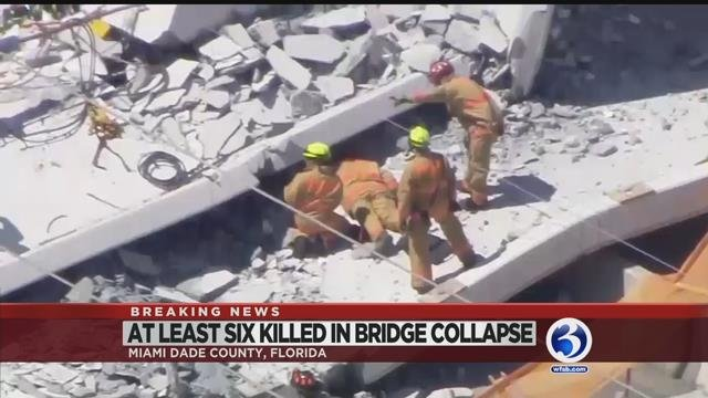 VIDEO: Firm involved in deadly FL bridge collapse built one in CT