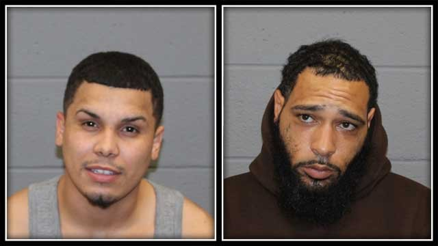 Pedro Nieves and Joseph Frye are facing charges (Waterbury Police)