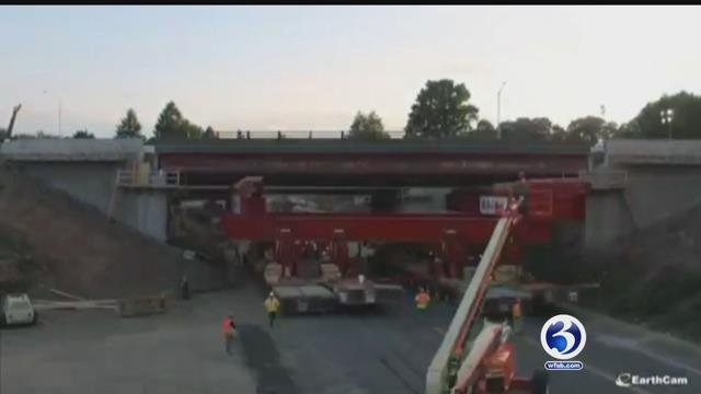 Video: Firm that helped build collapsed bridge in FL built one in CT