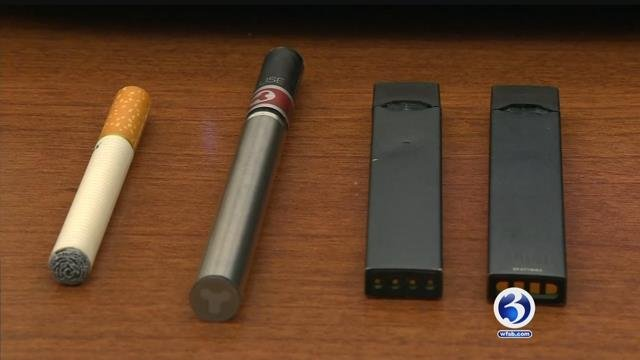 VIDEO: Lyme-Old Lyme schools ban e-cigarettes
