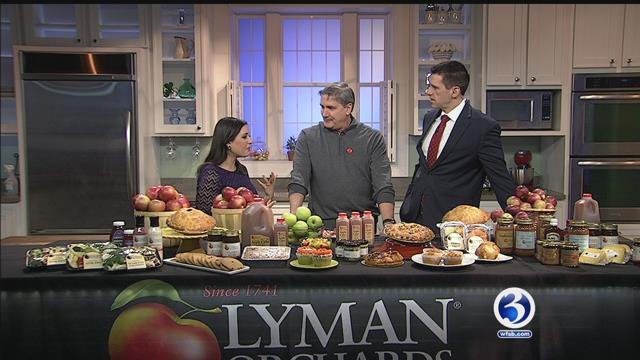 Lyman Orchard's Apple Barrel opens on Saturday (WFSB)