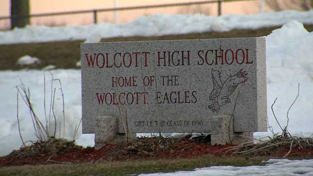 Two Wolcott students were arrested after they allegedly made a threat (WFSB)