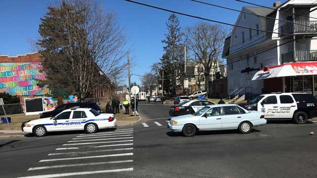 Police are investigating a shooting that happened on Monday (WFSB)