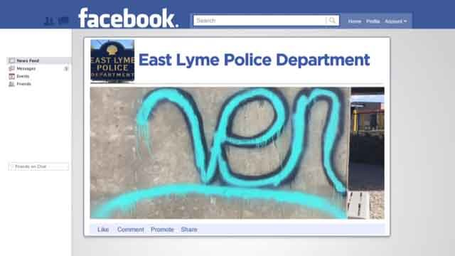 East Lyme is using the power of social media to nab vandals (Facebook)