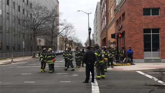 A strong odor closed several roads in New Haven (WFSB)