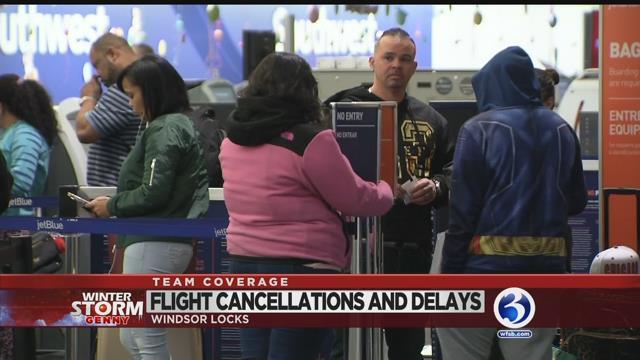 VIDEO: Flights resume at Bradley