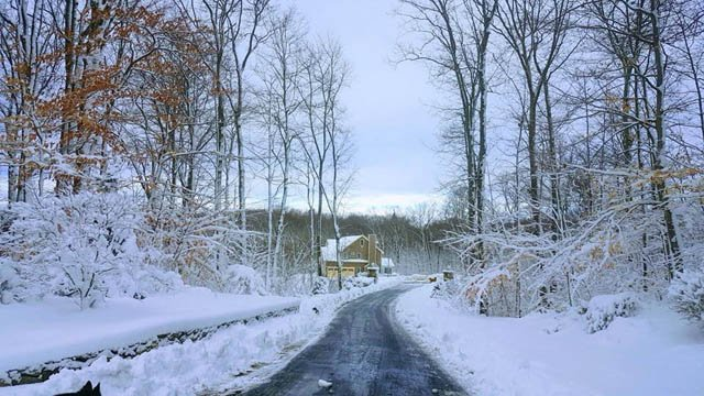 A picturesque scene in Watertown following Winter Storm Genny. (Frederic/iWitness photo)
