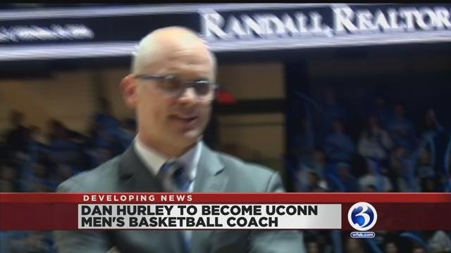 Video: URI's Hurley tapped as new UConn men's basketball head coach