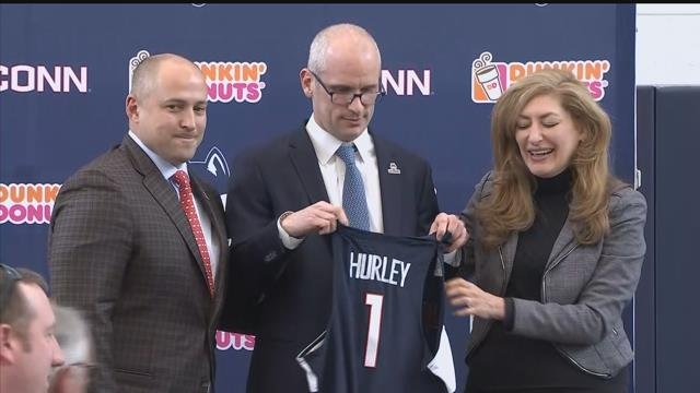NEWS CONFERENCE: Dan Hurley introduced as new UConn men's basketball coach