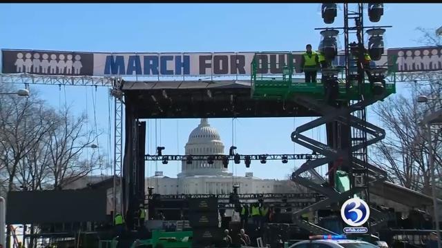 Video: Hartford prepares for rally denouncing gun violence