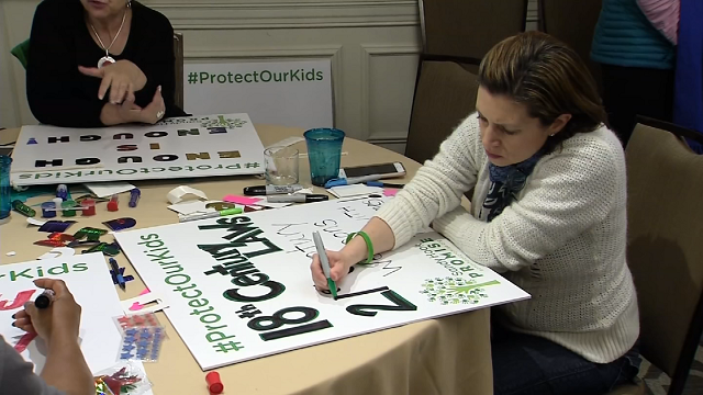 Sandy Hook students to attend march in DC (WFSB)
