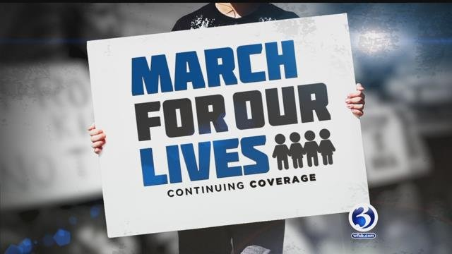 Students depart Hartford to attend 'March for our Lives' rally