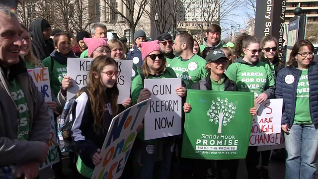 Members of Newtown Action Alliance join in DC march (WFSB)
