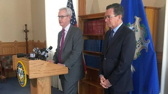 Malloy sticking with McDonald, despite lack of GOP support