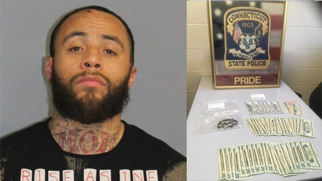 Nathaniel Calloway is accused of stealing a vehicle and leading state police on a pursuit into Southbury. (State police)