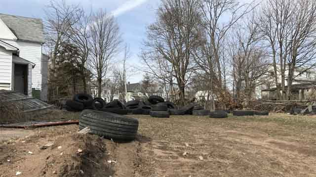 Someone is turning the site of an upscale mall into a dumping ground (WFSB)