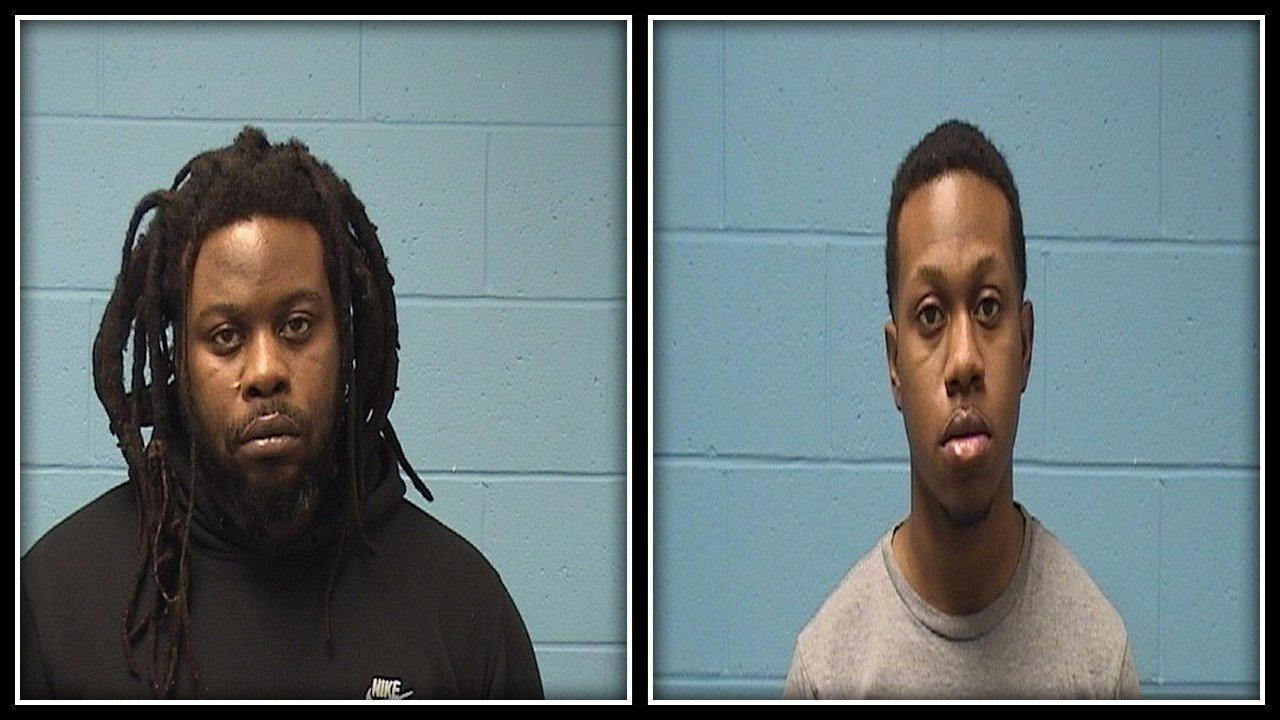 Left: Raymond Baker, Right: Joseph Pierce (Wolcott Police Department)