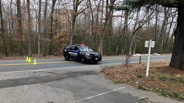A bomb threat forced an evacuation at a business in Bloomfield on Tuesday (WFSB)