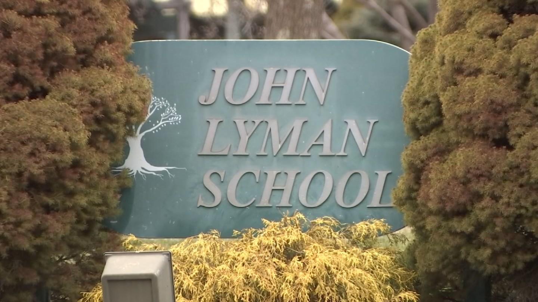 John Lyman Elementary School in Middlefield. (WFSB)