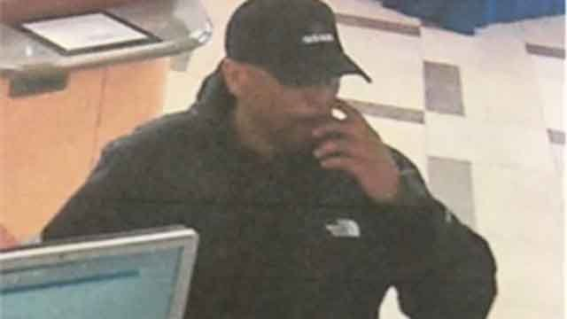 Police are looking for this man in connection with an East Hartford bank robbery (East Hartford Police)