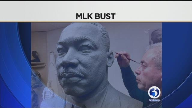 The likeness of a bust of Dr. Martin Luther King Jr. will be unveiled in Ansonia on the 50th anniversary of his death (WFSB)