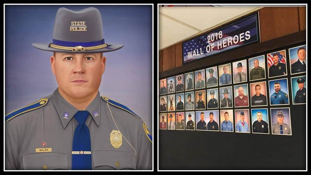 A Pennsylvania officer constructed a photo of Trooper Kevin Miller (CT State Police)