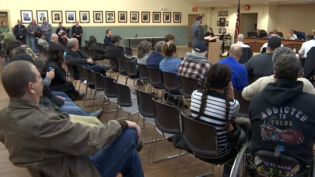 Meeting held in Torrington to discuss open positions at the police department (WFSB)