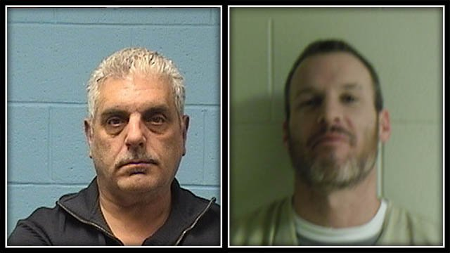Police have arrested two men accused in a package store burglary (Wolcott Police)