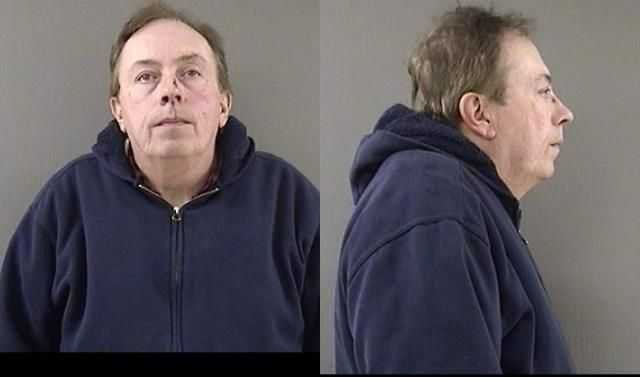 Peter Amadon is scheduled to appear in court on April 18 (Wallingford Police Department)