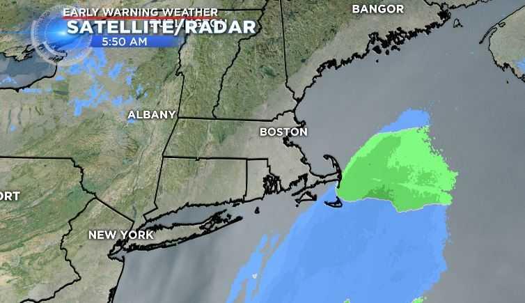 A coastal storm just missed New England (WFSB)