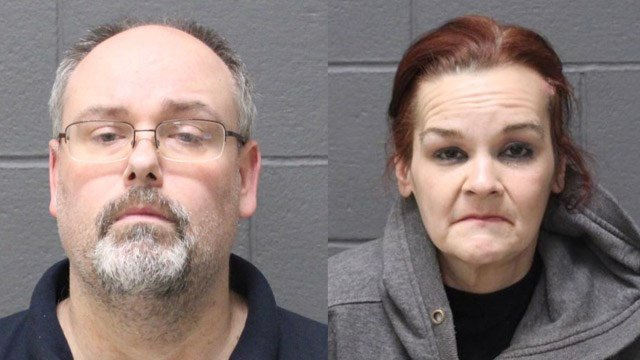 Jason and Kelly Savage face animal cruelty charges for abandoning dogs in their Southington basement, according to police. (Southington police)