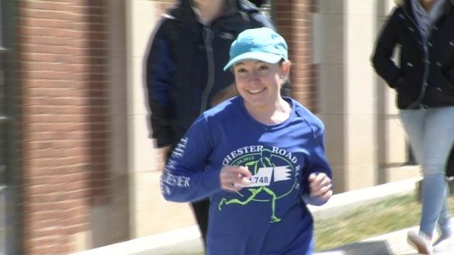 Caitlin Eaton-Robb is set to run the Boston Marathon in just a few days (WFSB)
