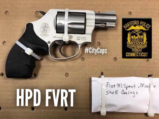 Man arrested after firing gun at three people in Hartford (WFSB)