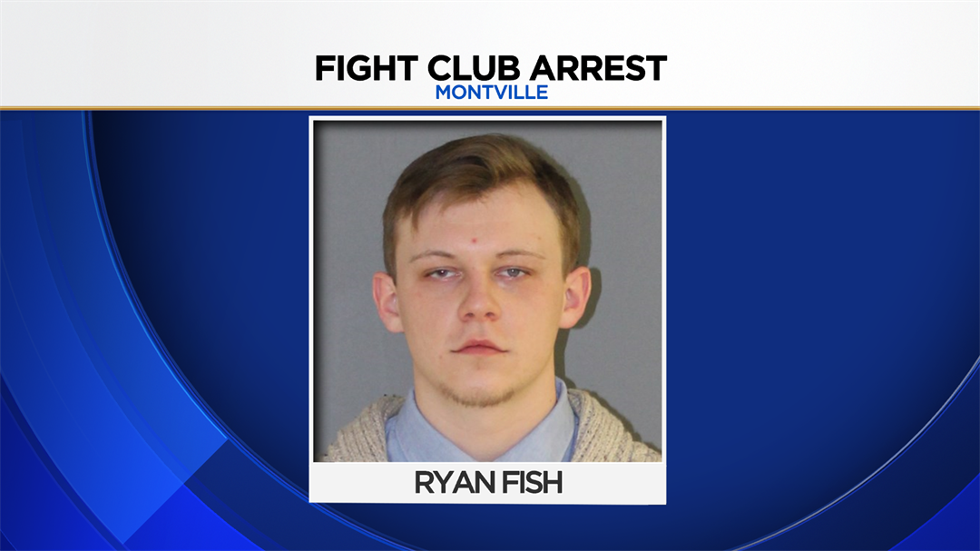 "Ryan Fish was arrested after police said he was running a ""fight club"" at Montville High School.  (CT State Police)"