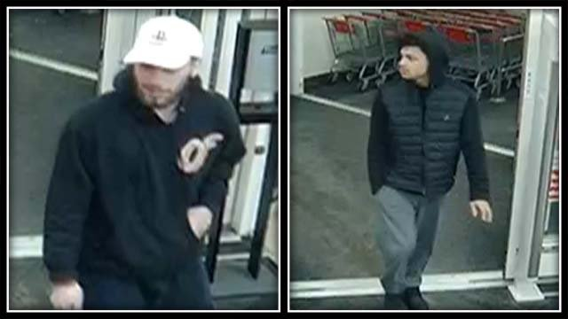 Police are trying to identify these two men (Glastonbury Police)