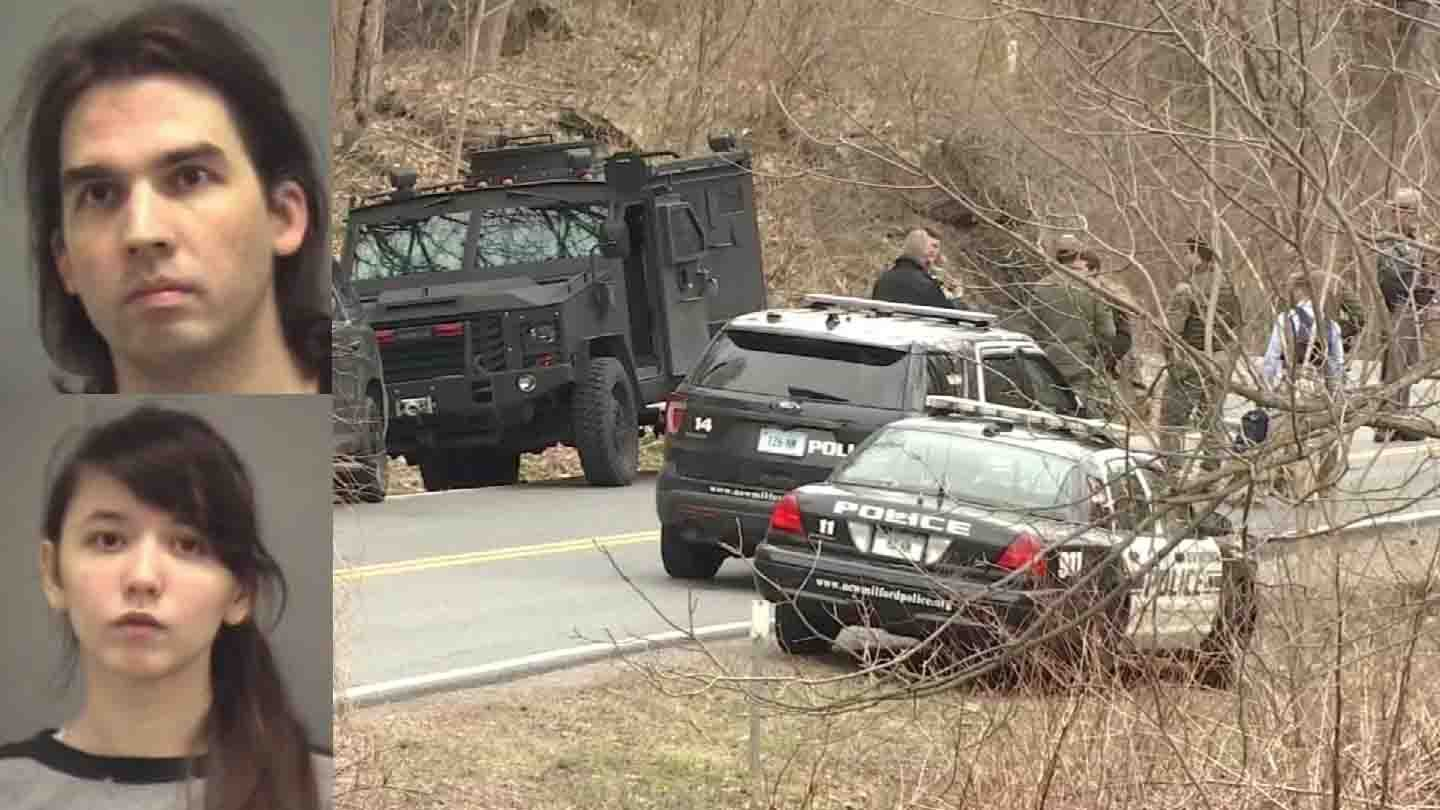 Steven Pladl killed his biological daughter, Katie, their baby and his daughter's adoptive father before committing suicide, police said. (WFSB/contributed photos)