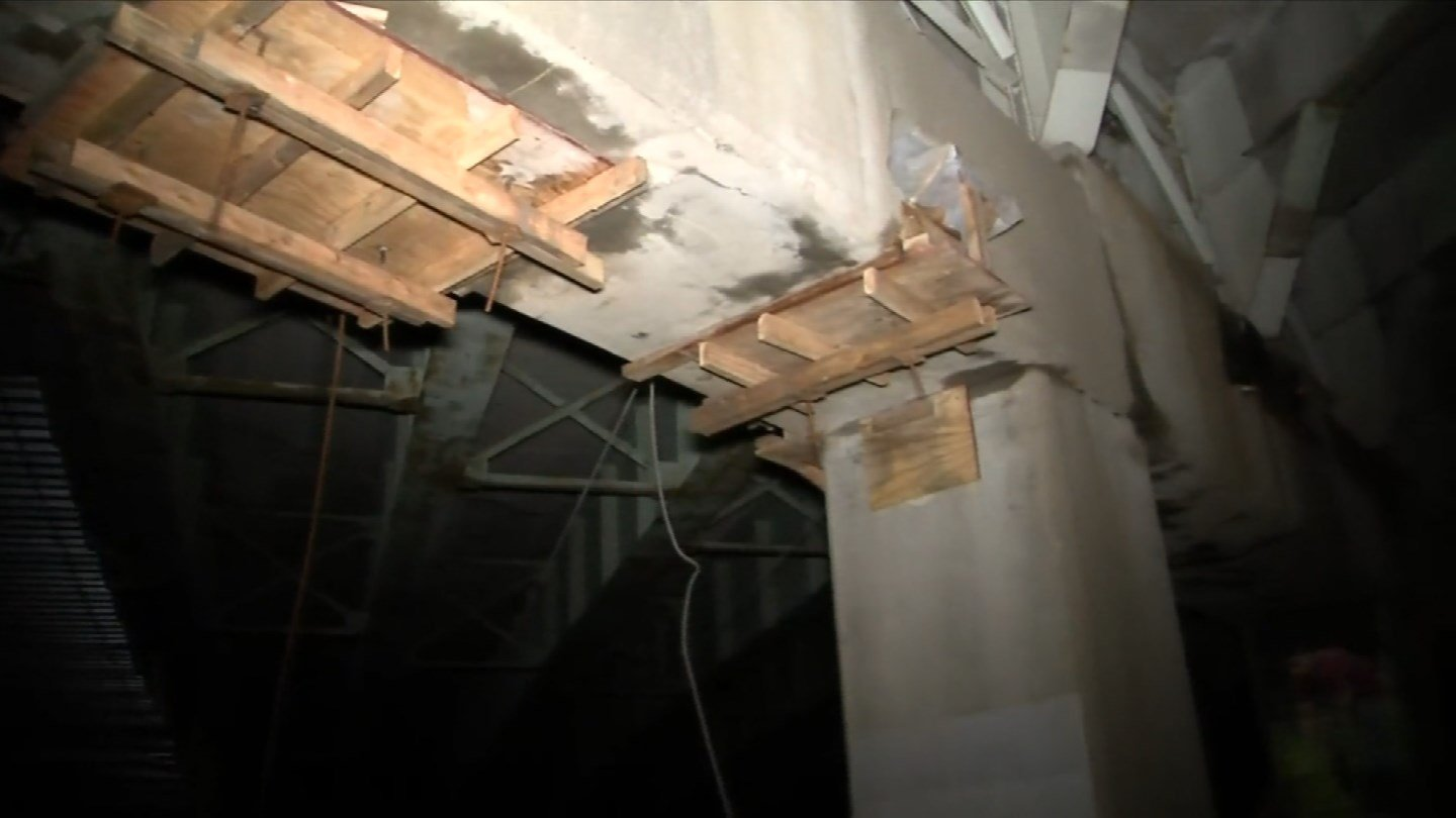 The Move CT Forward group says many of the state's bridges are structurally deficient. (WFSB)