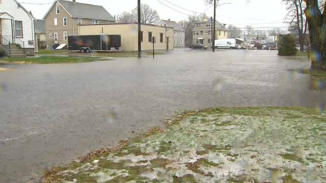 Neighbors in one Plainville neighborhood are fed up with the constant flooding (WFSB)