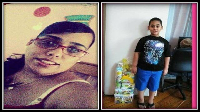 Denisse Colon (left) and Jensen Colon (right) are missing from New Britain (New Britain Police)