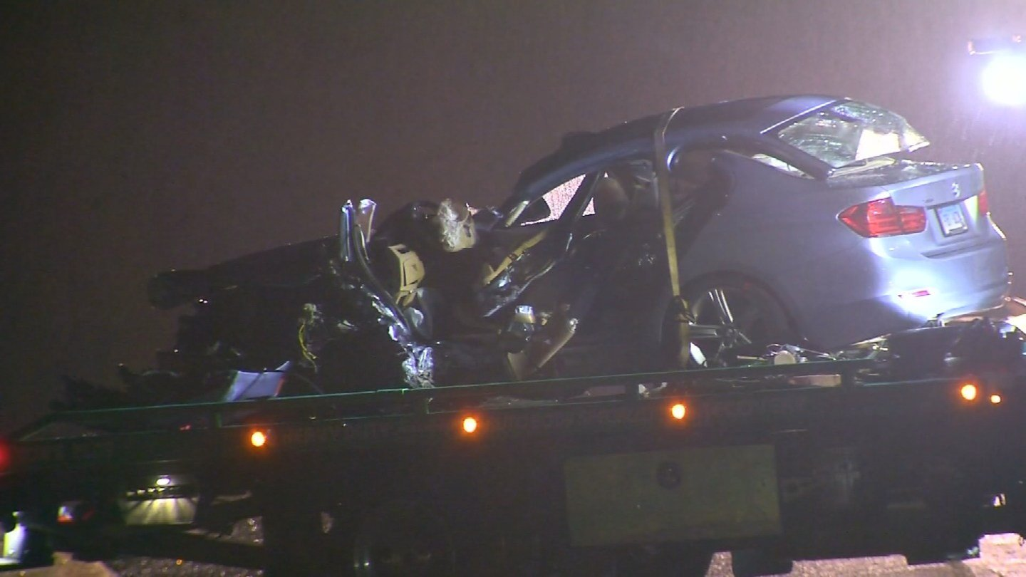 A female driver was killed in a two car crash in Middlebury Monday night. (WFSB)
